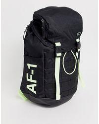 Nike Черный Рюкзак Af-1