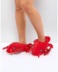 New Look Lobster Slipper - Red