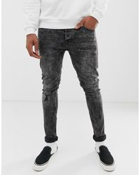 Only & Sons Skinny Jeans - Zwart