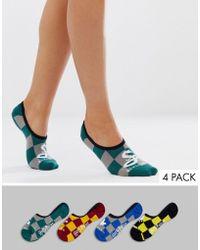 Vans X Harry Hogwarts Canoodle 3 Pack Socks - Multicolour