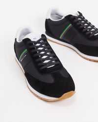 PS by Paul Smith Prince Leather Trainers - Black