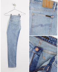 Nudie Jeans Co Skinny Lin Skinny Fit Jeans - Blue