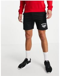 Russell Athletic Logo Jersey Shorts - Black