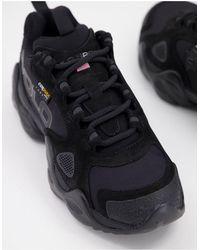 Polo Ralph Lauren Черные Кроссовки Rlx Fast Trail-черный Цвет