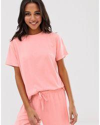 ASOS T-shirt del pigiama mix & match - Rosso