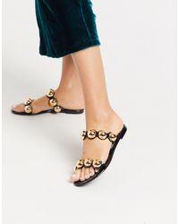 ASOS Flex Jelly Sandals - Black
