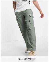 Collusion Pantalones verdes