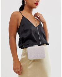 Forever New Embellished Clutch Bag In Blush - Pink