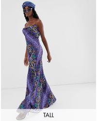 Taller Than Your Average Vestido largo - Morado