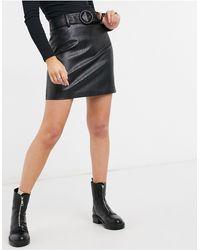 Forever New Mini Skirt - Black