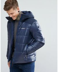 Didriksons 1913 - Reed Large Padded Jacket In Navy - Lyst