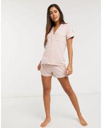 Lindex Розовые Пижамные Шорты Из Вискозы Chloe Eco-розовый