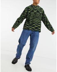 Weekday Space Loose Fit Jeans - Blue