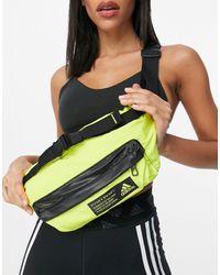 adidas Originals Желтая Сумка-кошелек Adidas Training-желтый