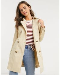 Pimkie Short Length Trench - Natural