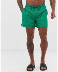 Jack & Jones Intelligence Swim Shorts With Drawstring - Green