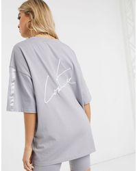 The Couture Club Oversized T-shirt - Grey