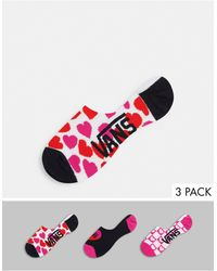 Vans Разноцветные Носки Bloom Checkz Canoodles-многоцветный