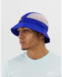 Nike Sombrero de pescador en azul marino
