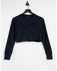 True Religion Camiseta negra - Negro