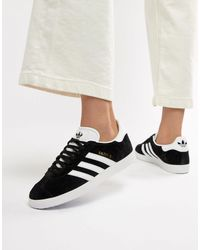 adidas Originals Originals Gazelle Trainers - Black