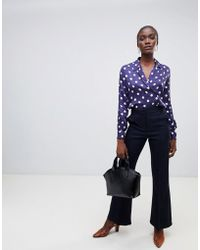 Finery London - Barby Flared Tailored Trousers - Lyst