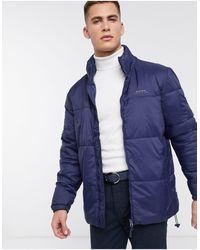 Bellfield Puffer Jacket - Blue