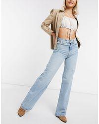 Free People Astoria - jeans a fondo ampio - Blu