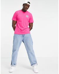 Element Seal Back Print T-shirt - Purple