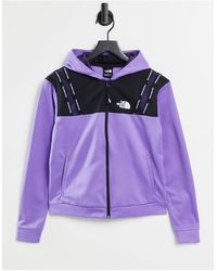 The North Face Mountain Athletic Full Zip Hoodie - Purple