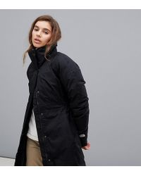 The North Face Womens Arctic Parka Ii In Black