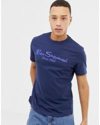 Ben Sherman - Large Logo T-shirt - Lyst