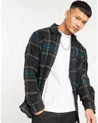 Pull&Bear Camicia a quadri blu