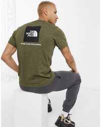 The North Face Red Box - T-shirt - Groen