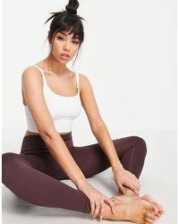ASOS 4505 - Yoga Seamless Sports Bra - Lyst