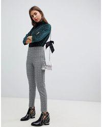 B.Young - Check leggings - Lyst