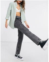 French Connection Roder - Mom jeans con stampa effetto tremolante neri - Nero