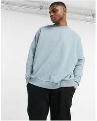ASOS Extreme Oversized Sweatshirt - Grey