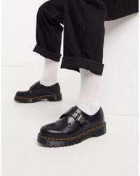 Dr. Martens Fenimore - Chaussures avec bride à boucle - Noir