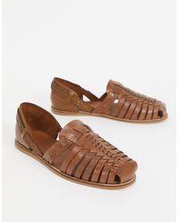 ASOS Woven Sandals - Brown