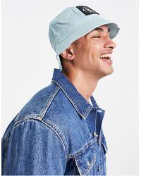 Calvin Klein Голубая Панама С Нашивкой С Монограммой – Эксклюзивно Для Asos-голубой - Синий