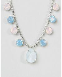 Krystal London - Swarovski Crystal Pear Drop Necklace - Lyst