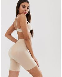 Spanx Suit Your Fancy Butt Enhancer Shaping Shorts - Natural