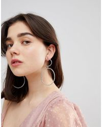 ALDO | Double Circle Earrings | Lyst