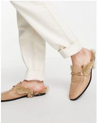 ASOS Backless Mule Loafer - Multicolour