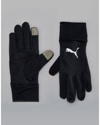 PUMA Running Performance Gloves In Black 04129401