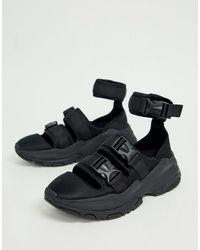 ASOS - – e Sneaker-Sandalen mit dicker Sohle - Lyst