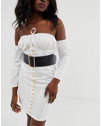 ASOS Wide Waist Belt - Black