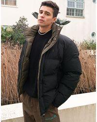 AllSaints Novern Reversible Puffer Jacket - Black