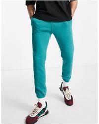 Abercrombie & Fitch Mini Puff Logo Cuffed joggers - Green
